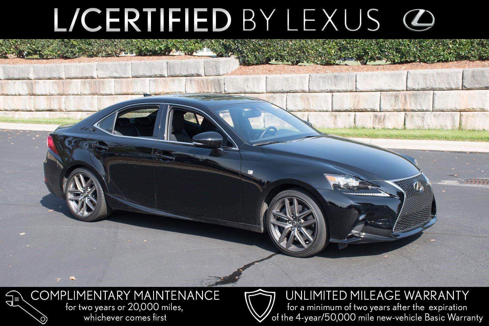 Pre-Owned 2016 Lexus IS 200t F Sport