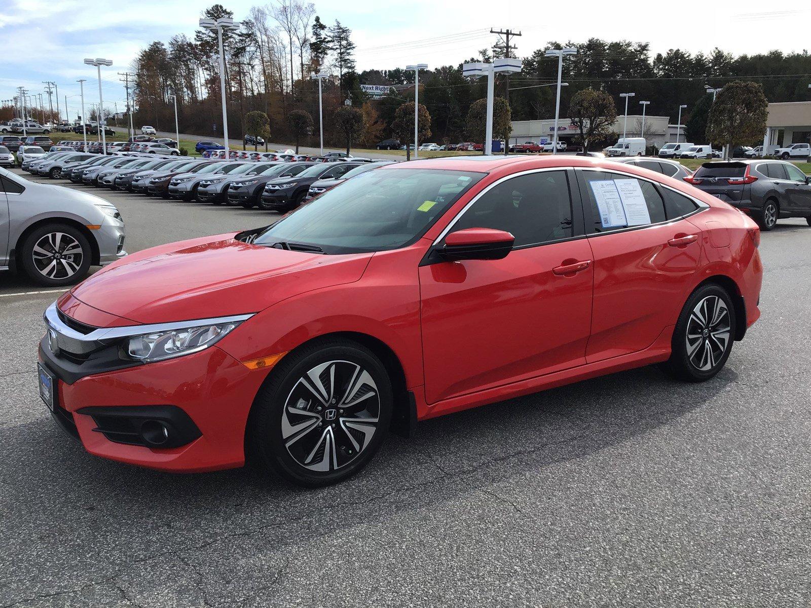 Pre Owned 2018 Honda Civic Ex T Sedan