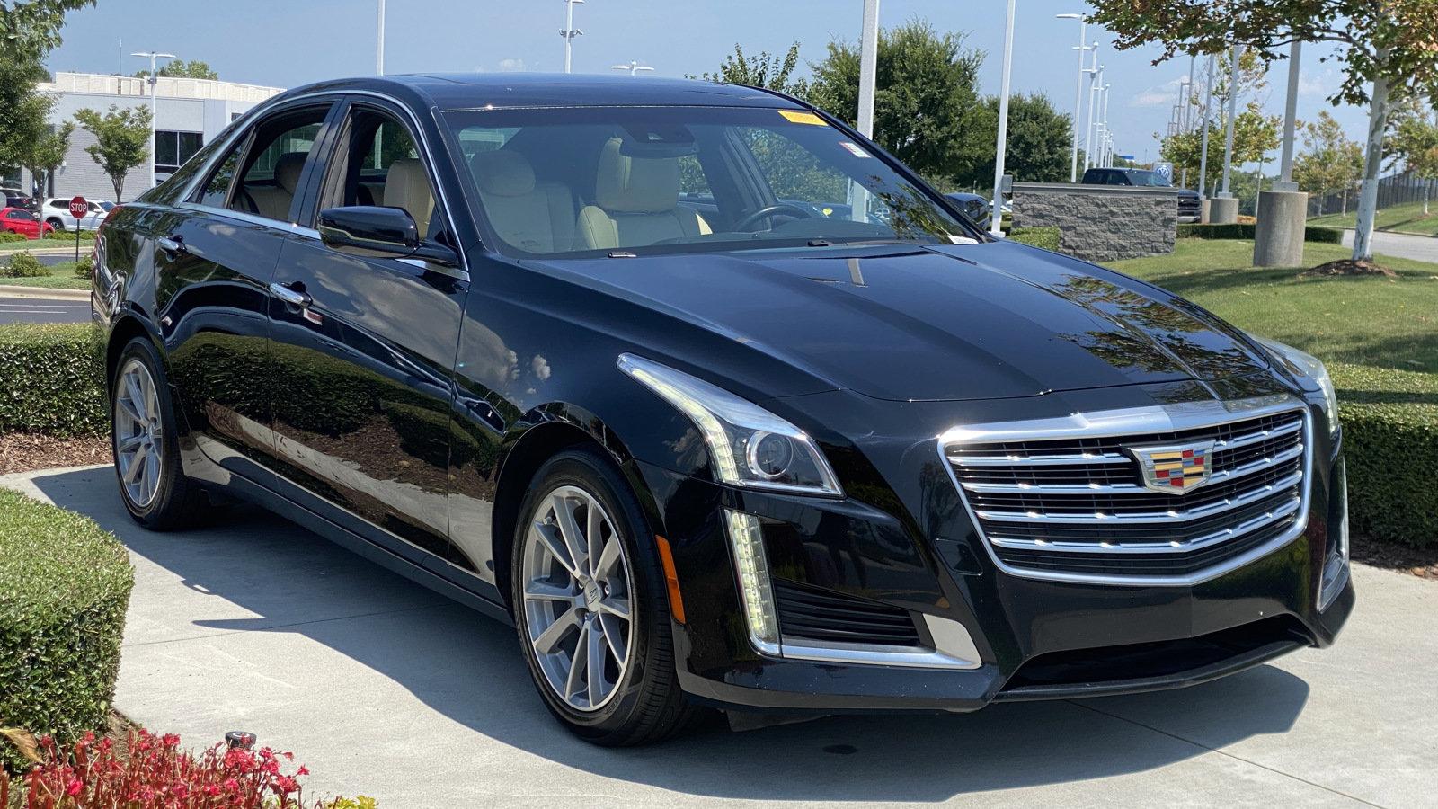 2017 Cadillac CTS Sedan Luxury RWD