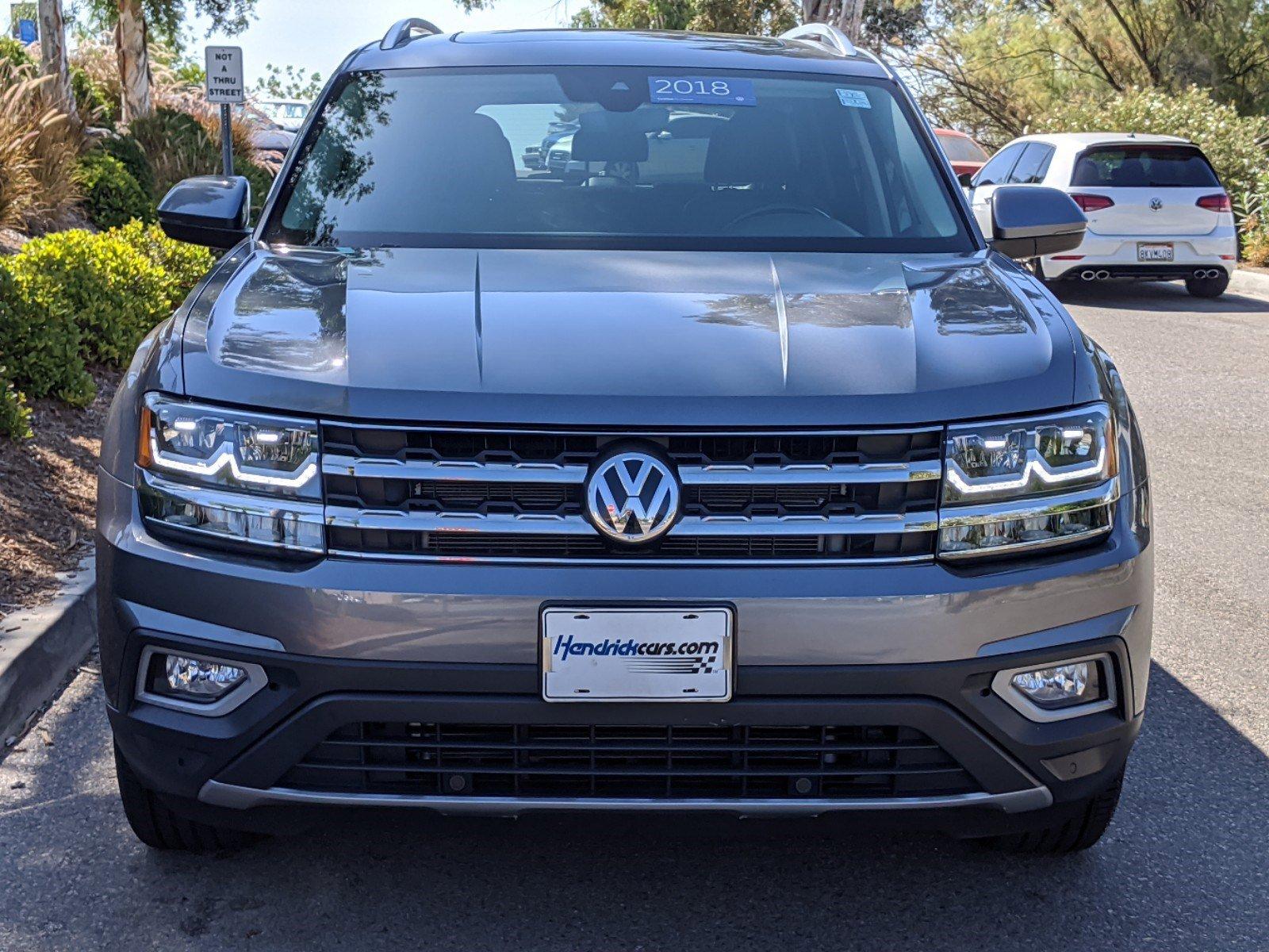Certified Pre-Owned 2018 Volkswagen Atlas 3.6L V6 SEL