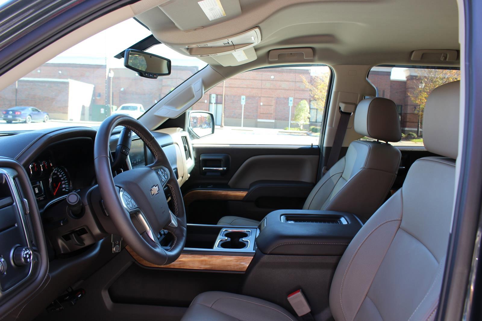 Certified Pre-Owned 2018 Chevrolet Silverado 1500 LTZ