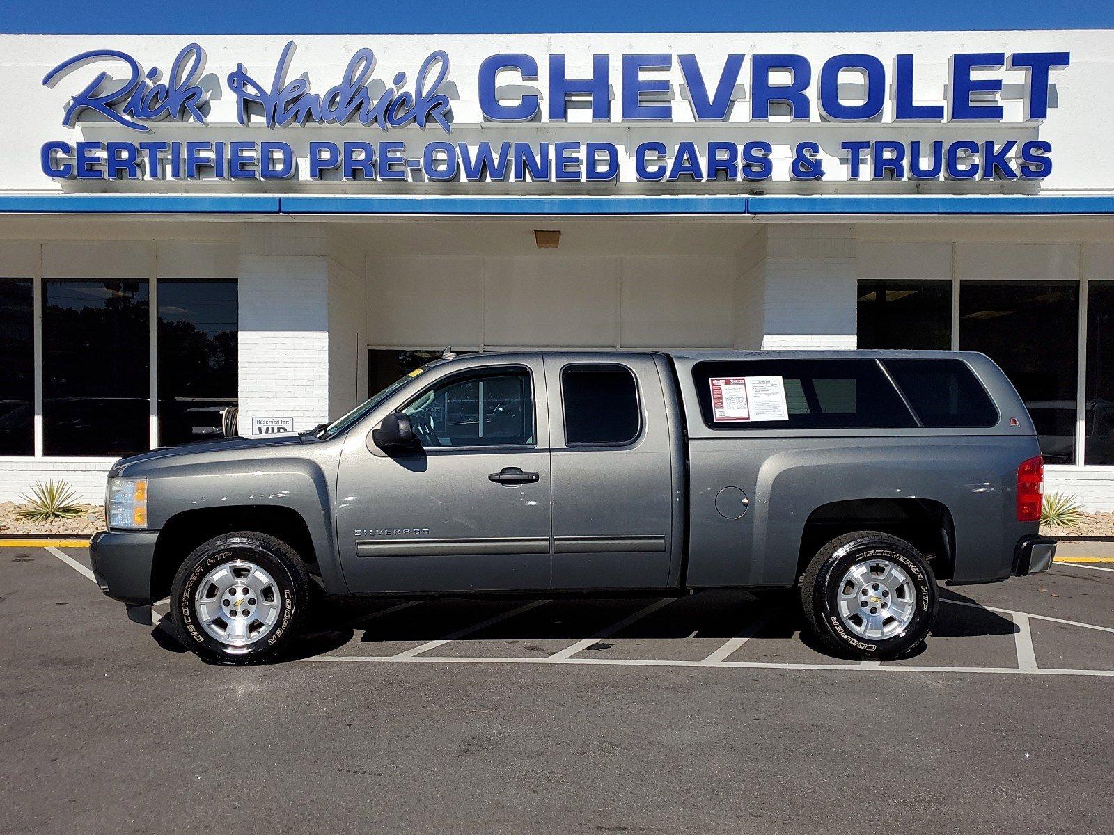 Pre-Owned 2011 Chevrolet Silverado 1500 LT