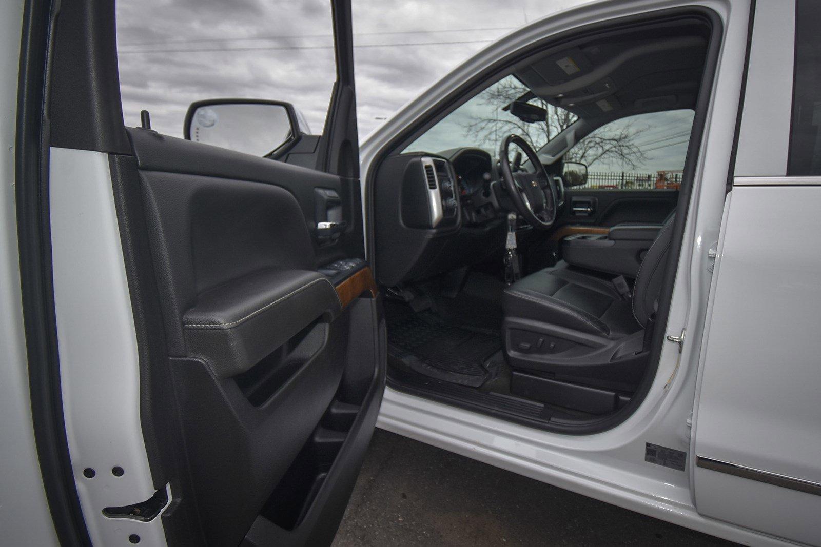 Pre-Owned 2018 Chevrolet Silverado 1500 LTZ