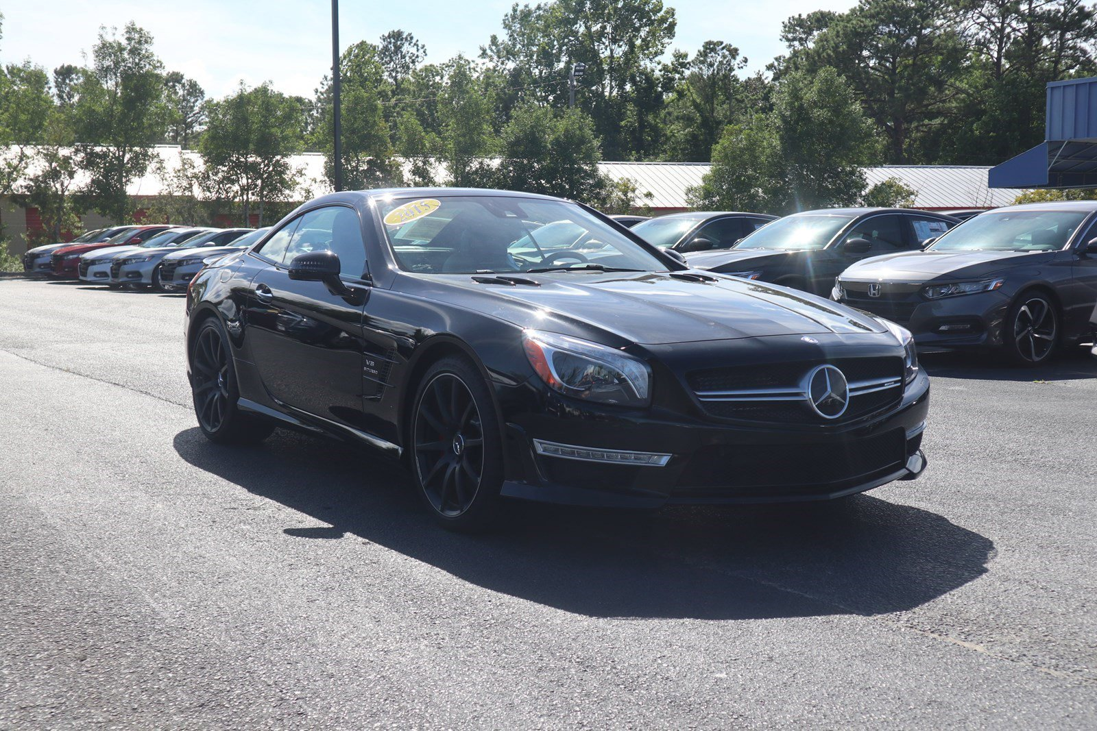 Pre-Owned 2015 Mercedes-Benz SL-Class SL 63 AMG®