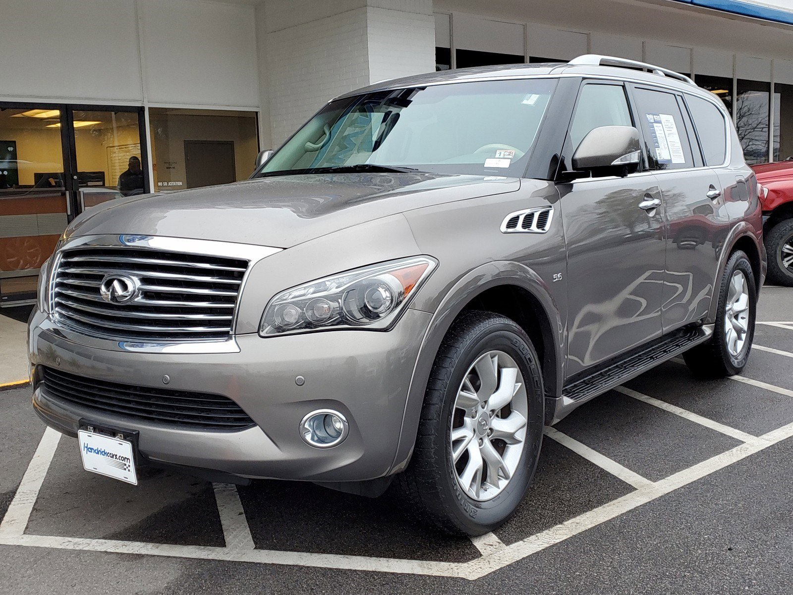 Pre-Owned 2014 INFINITI QX80 2WD 4dr
