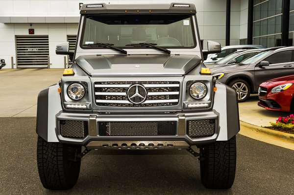 Certified Pre-Owned 2017 Mercedes-Benz G-Class G 550 4x4 Squared