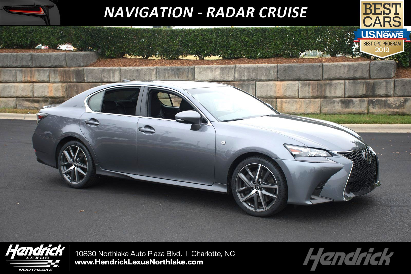 Lexus Pre Owned >> Certified Pre Owned 2016 Lexus Gs 350 F Sport With Navigation