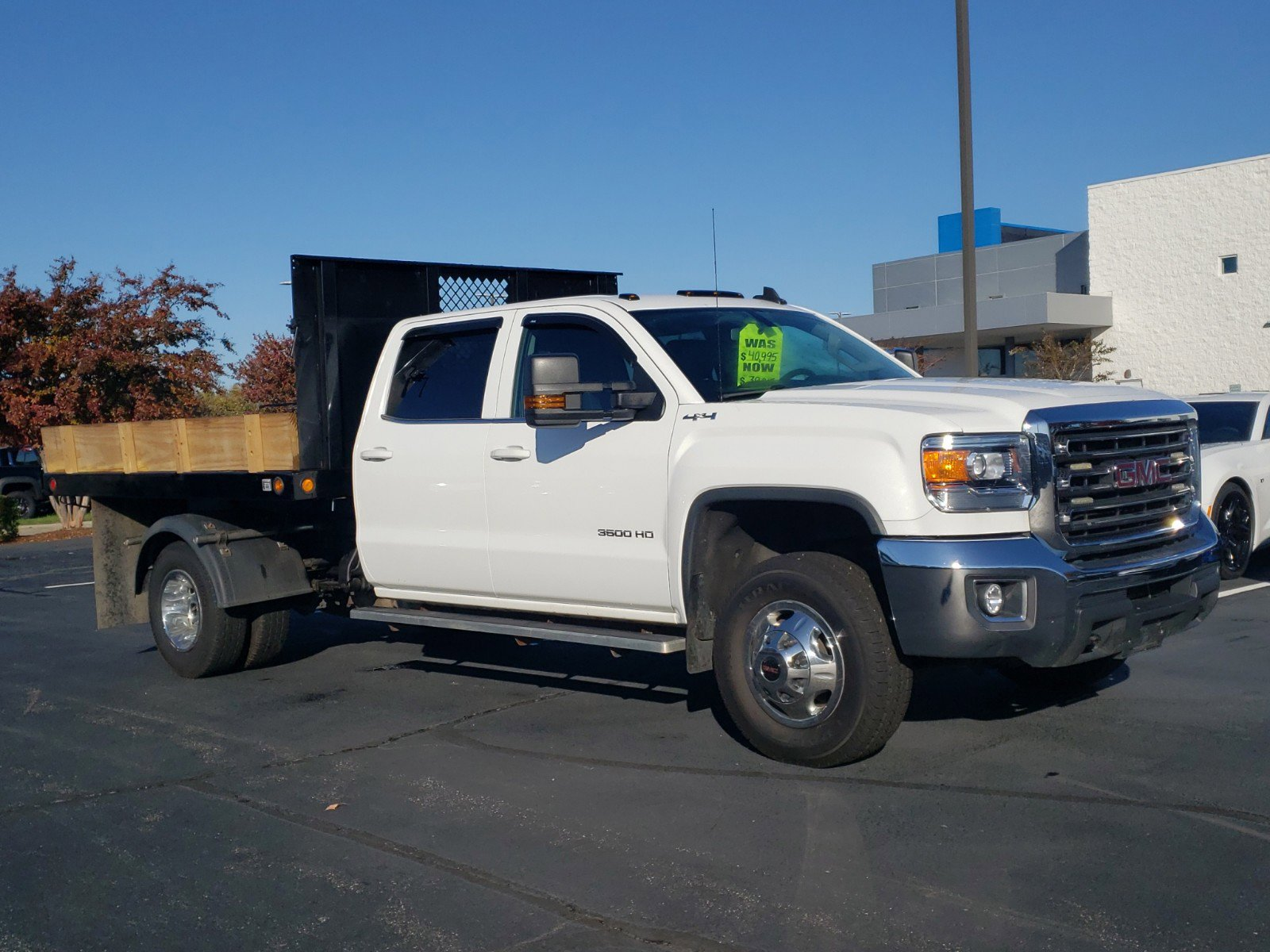 Pre-Owned 2015 GMC Sierra 3500HD available WiFi SLE