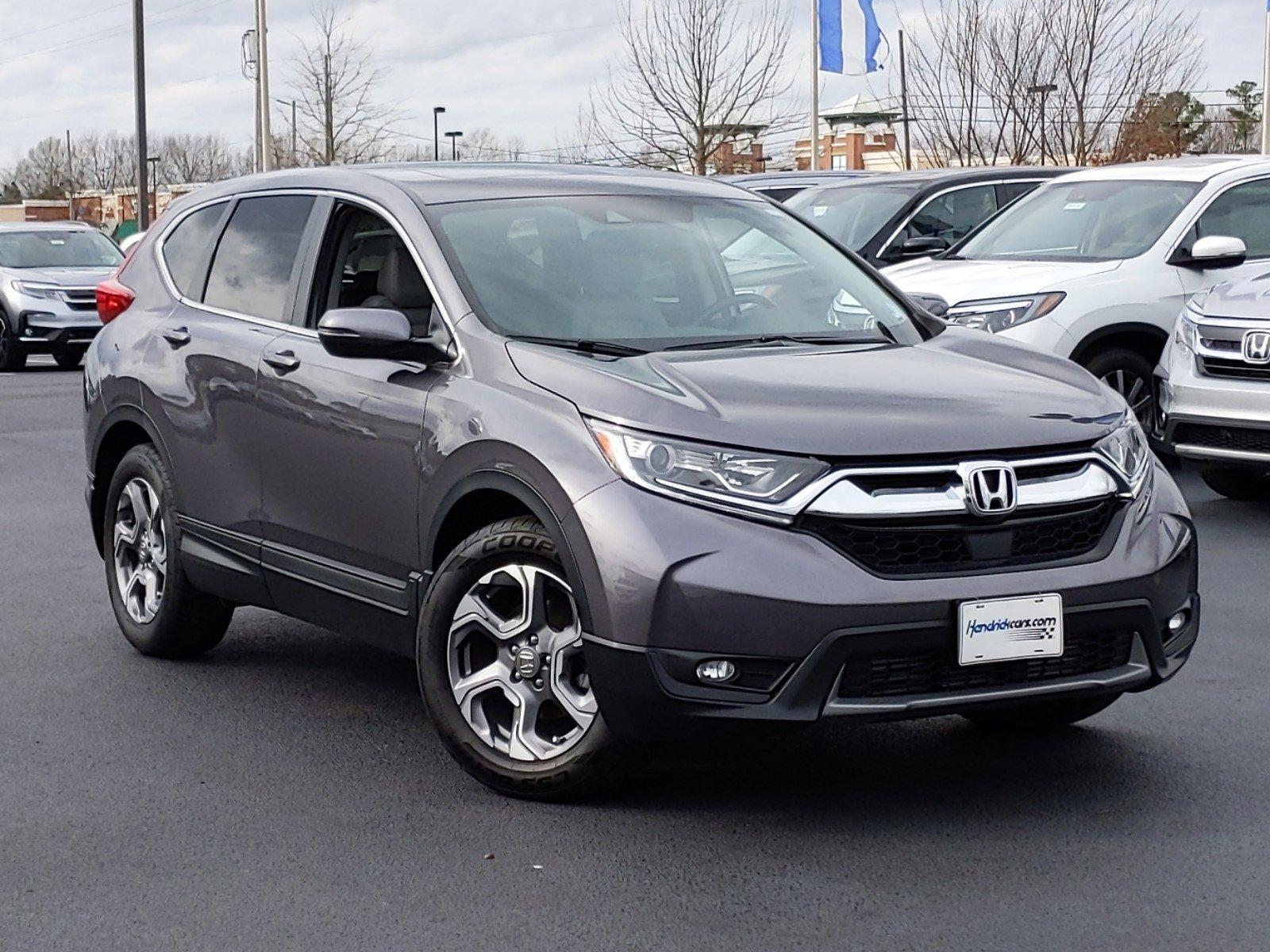 Certified Pre-Owned 2018 Honda CR-V EX-L