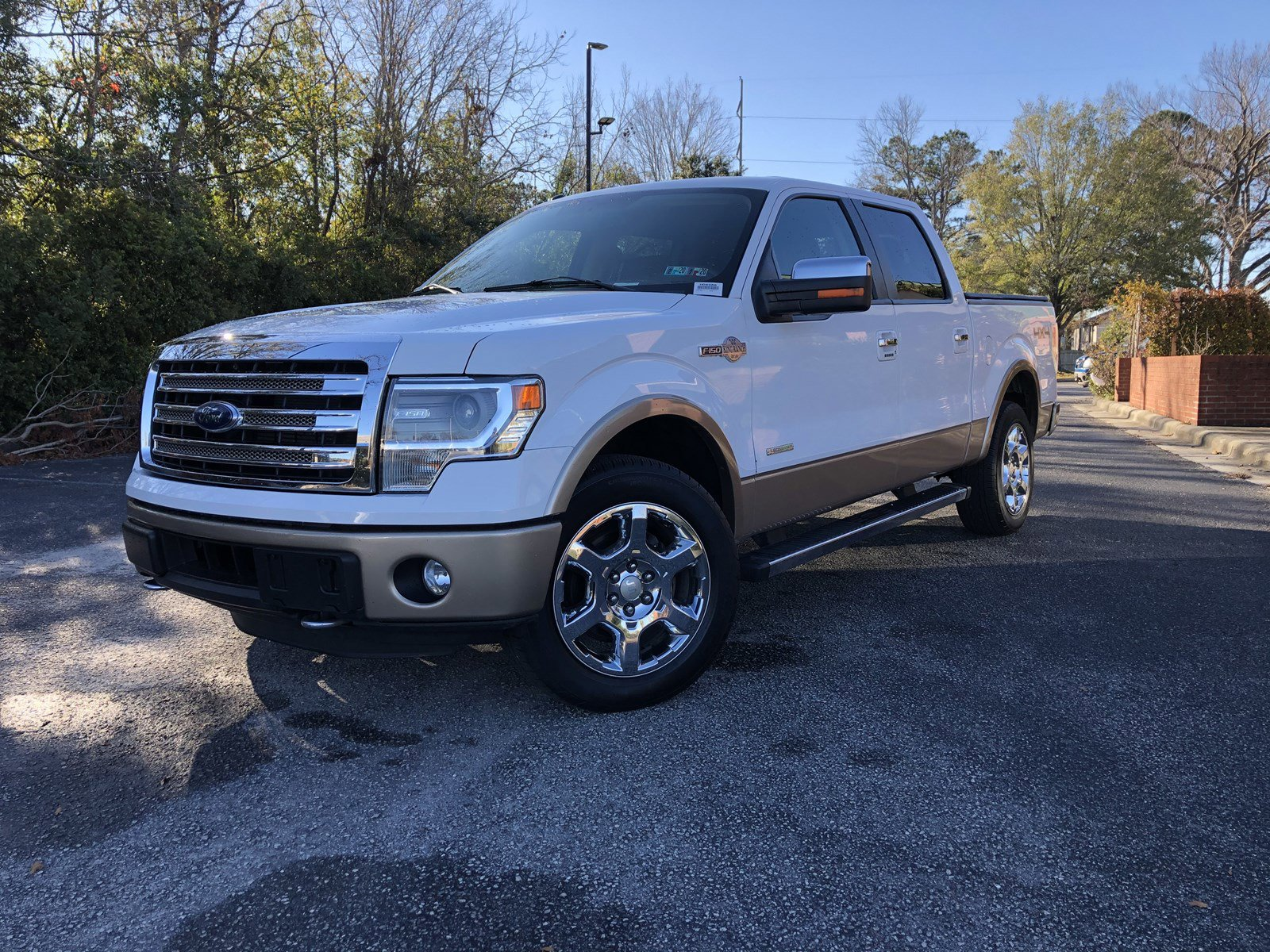 Pre-Owned 2014 Ford F-150 King Ranch
