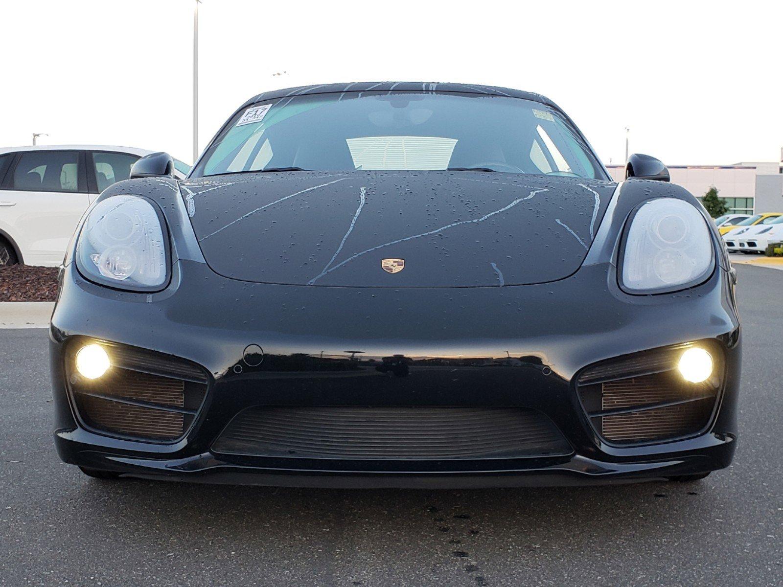 Pre-Owned 2016 Porsche Cayman S