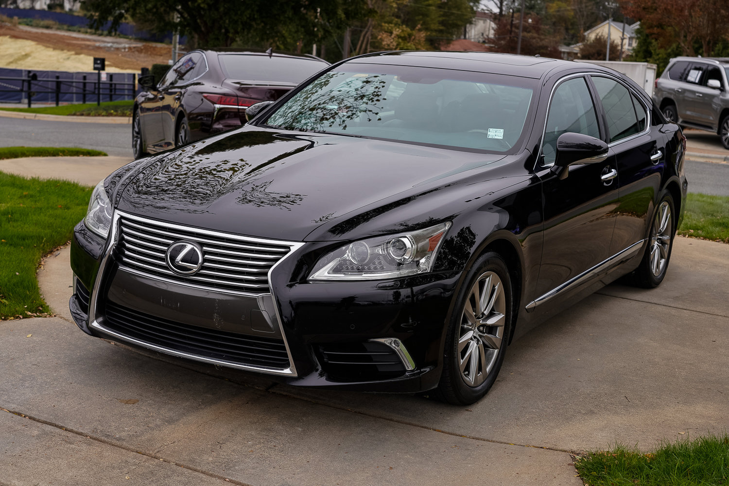 Pre-Owned 2014 Lexus LS 460 4dr Sdn AWD
