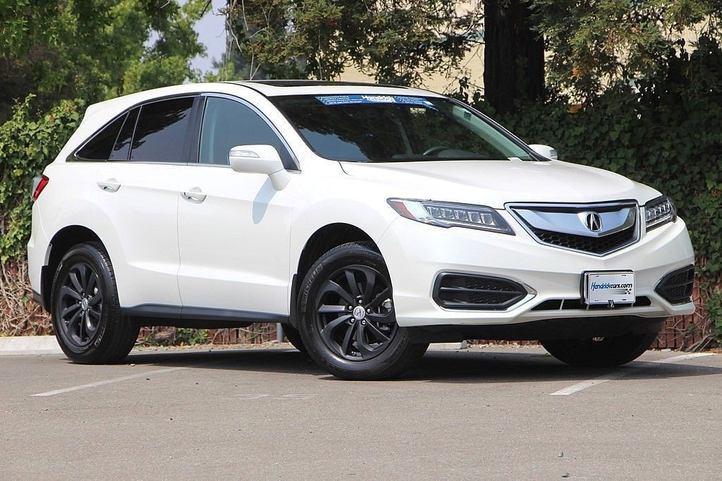 Pre-Owned 2017 Acura RDX 4DR AWD