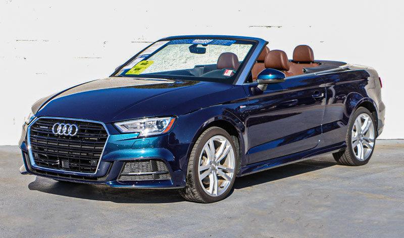 Pre-Owned 2018 Audi A3 Cabriolet Tech Premium Plus