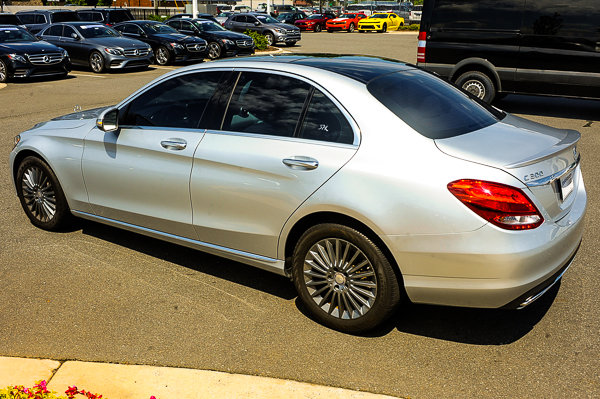 Certified Pre-Owned 2015 Mercedes-Benz C-Class C 300 Luxury