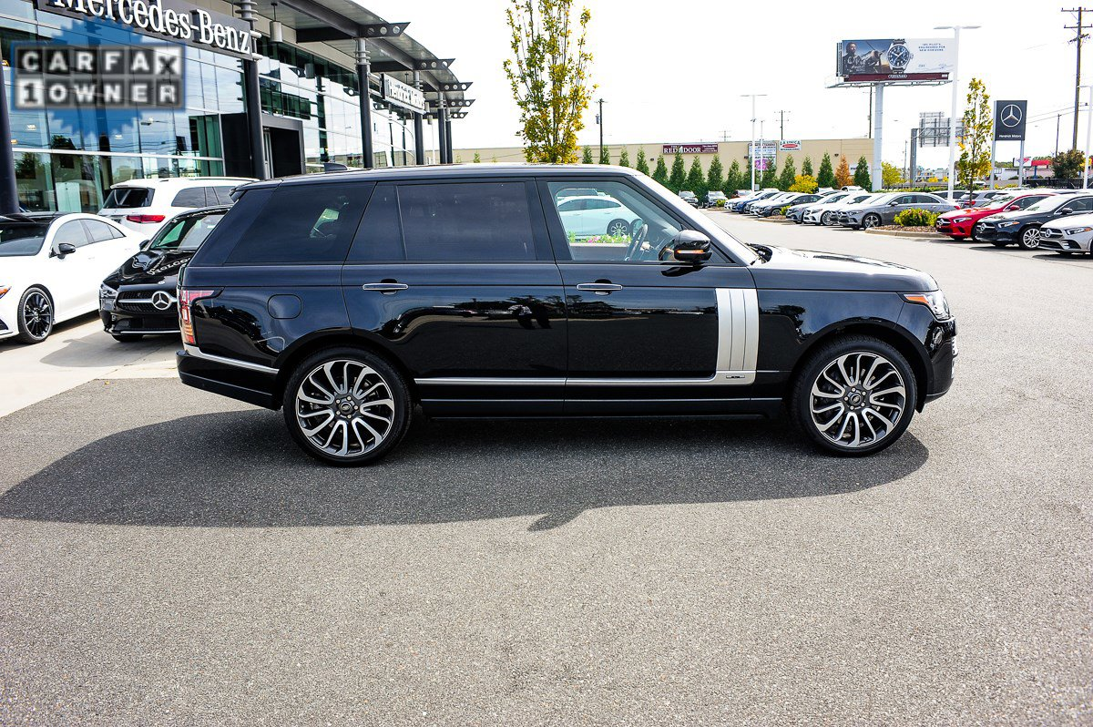 Range Rover Autobiography >> Pre Owned 2017 Land Rover Range Rover Autobiography