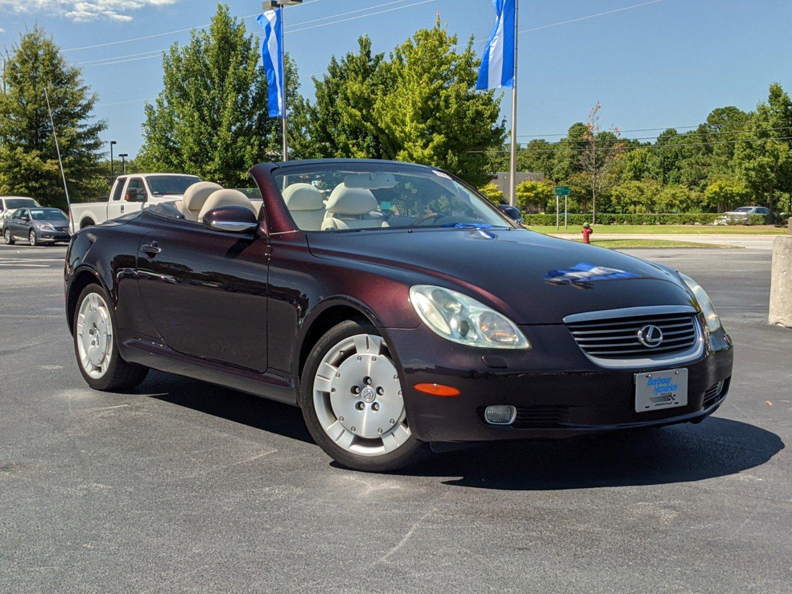 2002 Lexus SC 430 2DR CONV