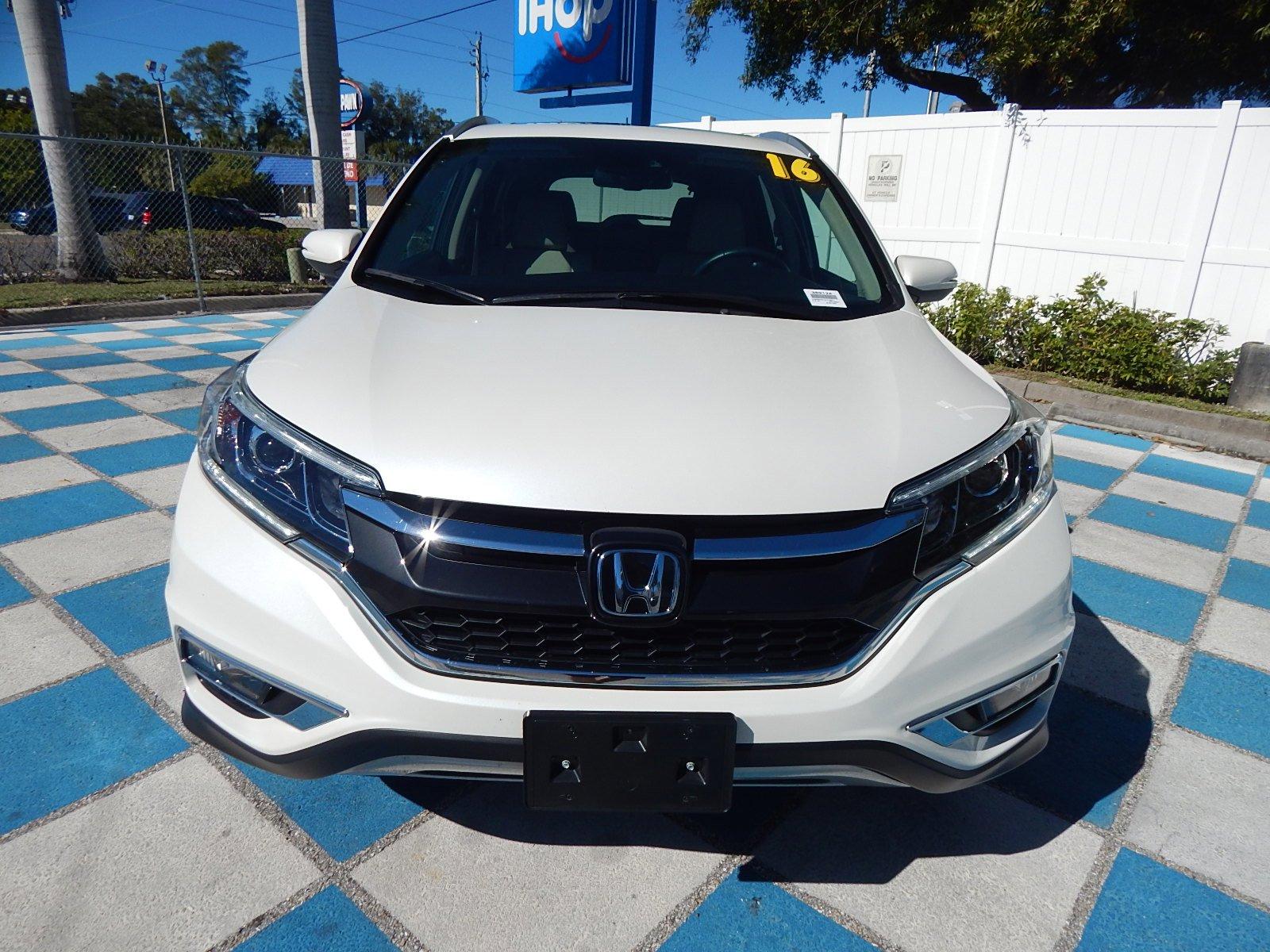 Certified Pre-Owned 2016 Honda CR-V Touring