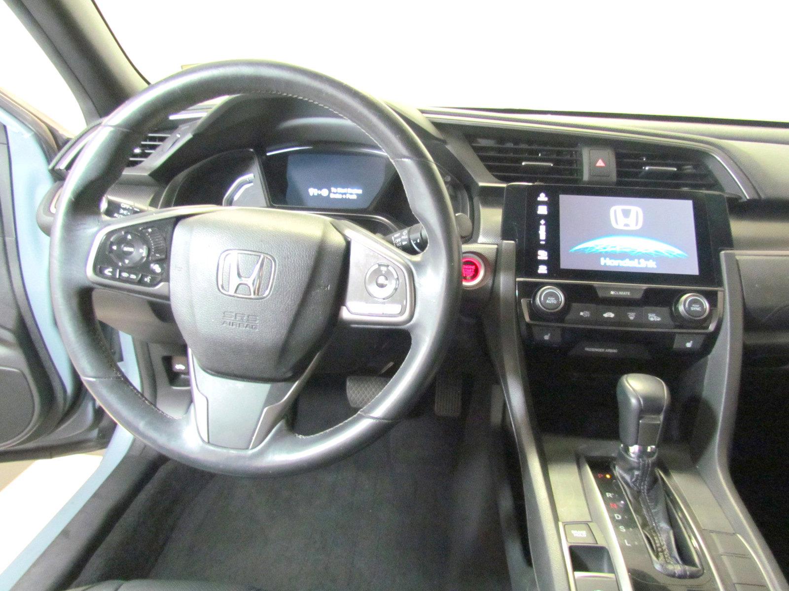 Pre-Owned 2017 Honda Civic EX-L Navi