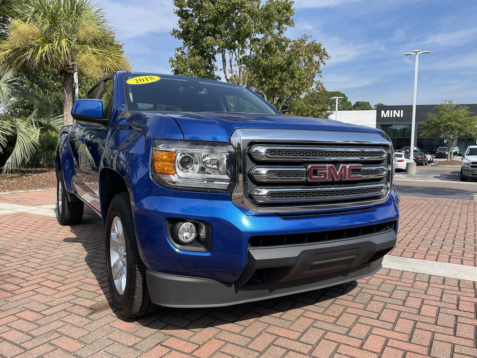2018 GMC Canyon 4WD Crew Cab SLE