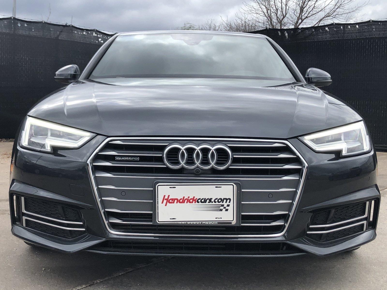Pre-Owned 2017 Audi A4 Prestige