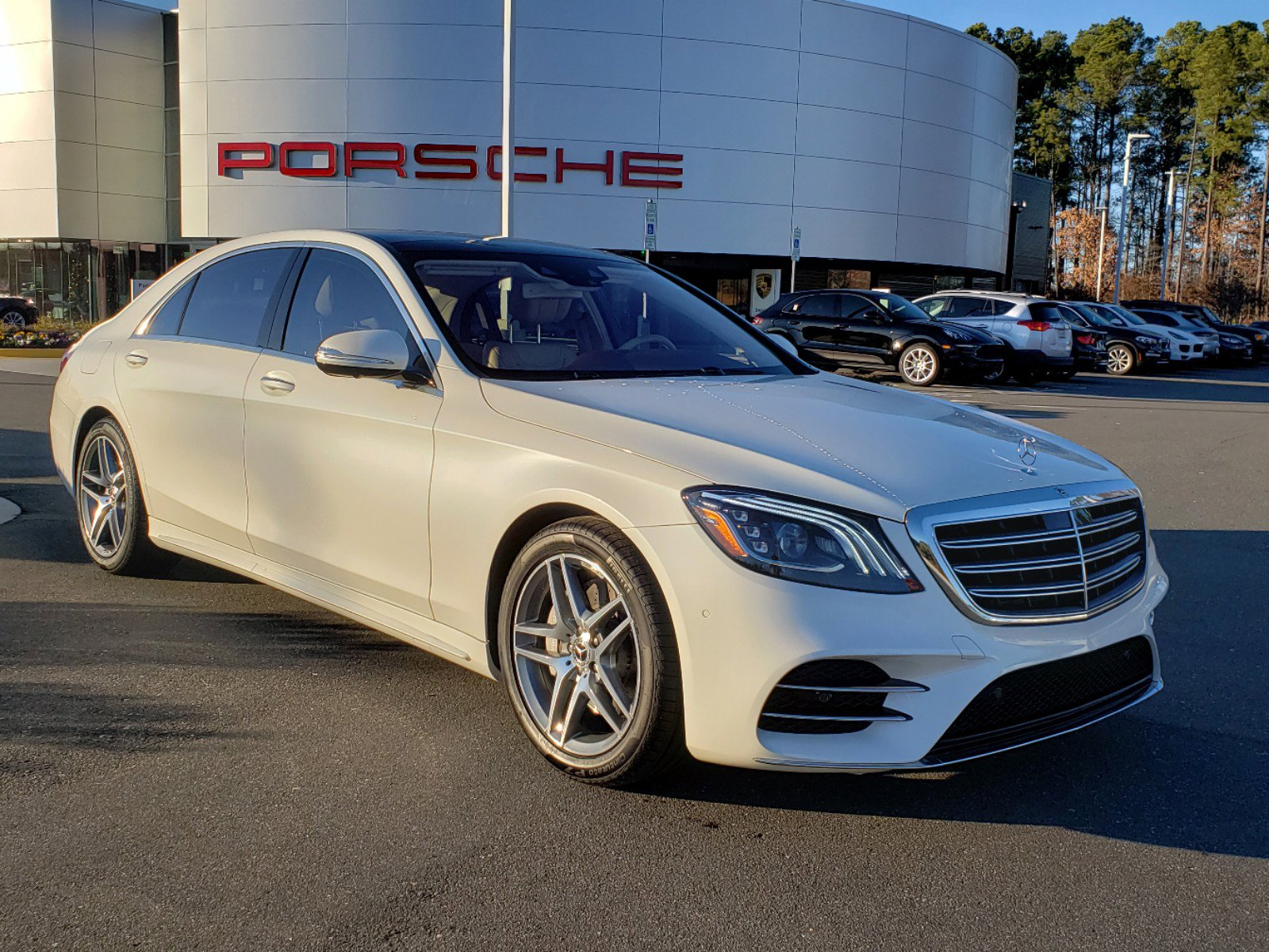 Pre-Owned 2018 Mercedes-Benz S-Class S 450