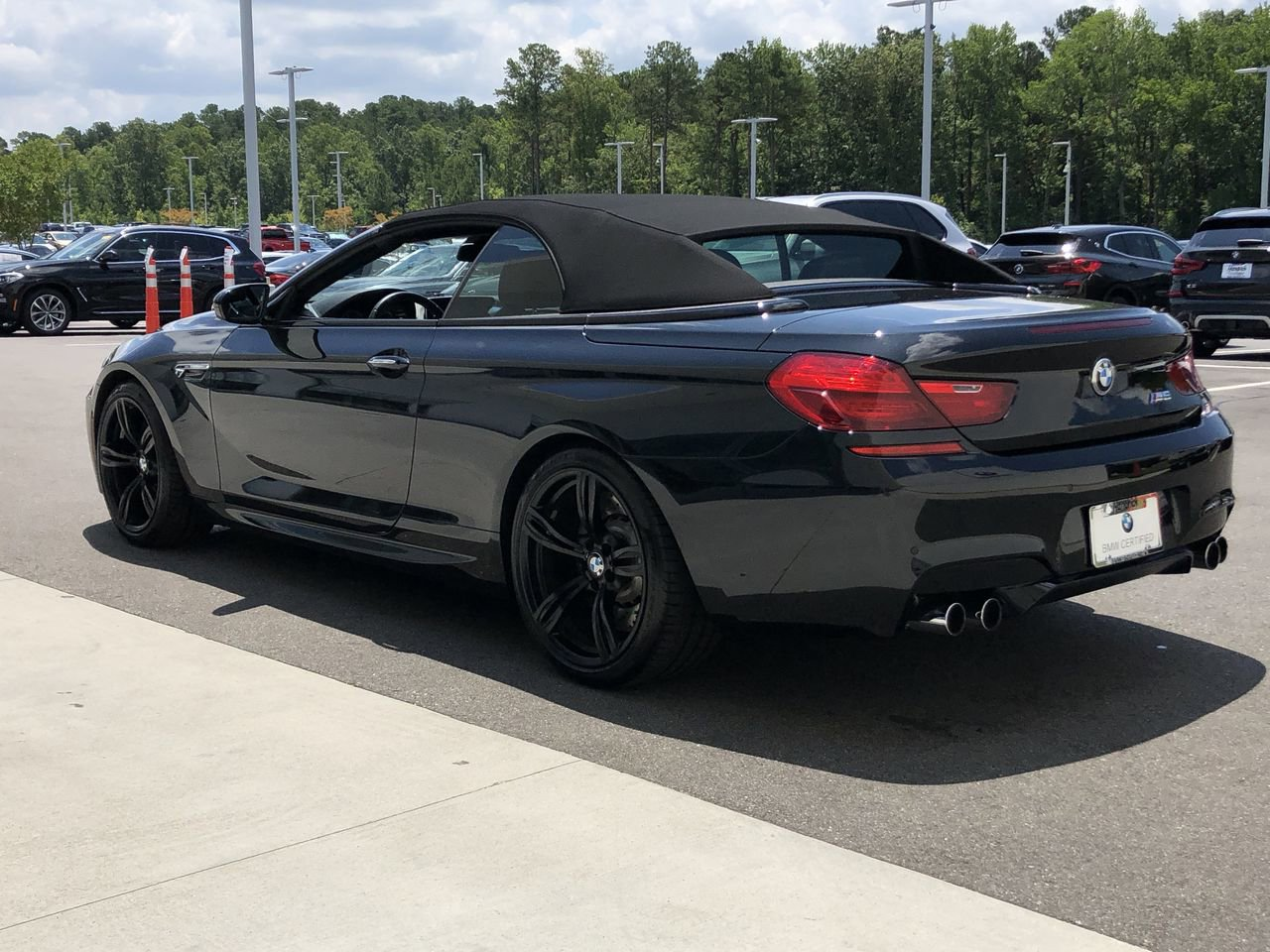 Pre-Owned 2018 BMW M6 Convertible