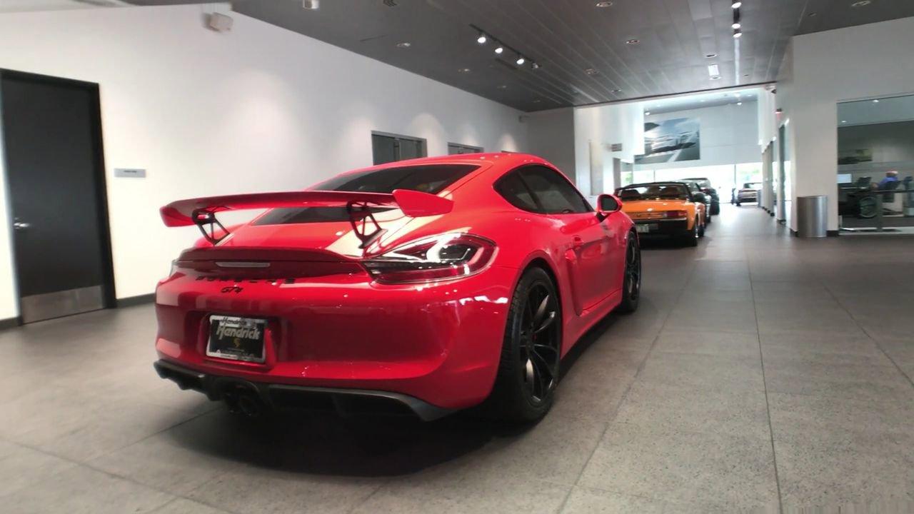 Certified Pre-Owned 2016 Porsche Cayman GT4