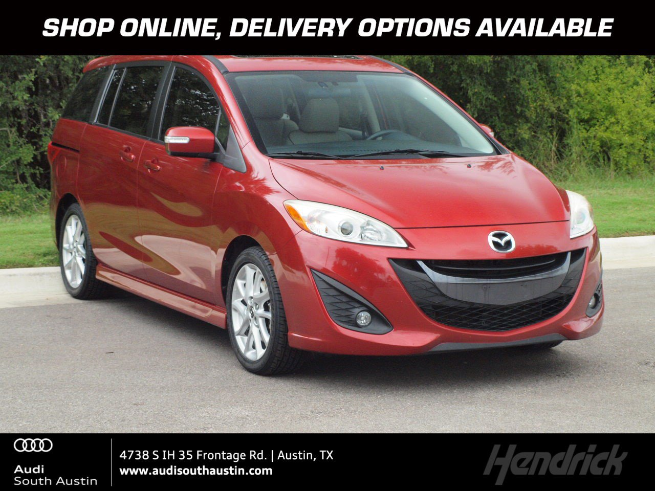 Pre-Owned 2013 Mazda5 Grand Touring