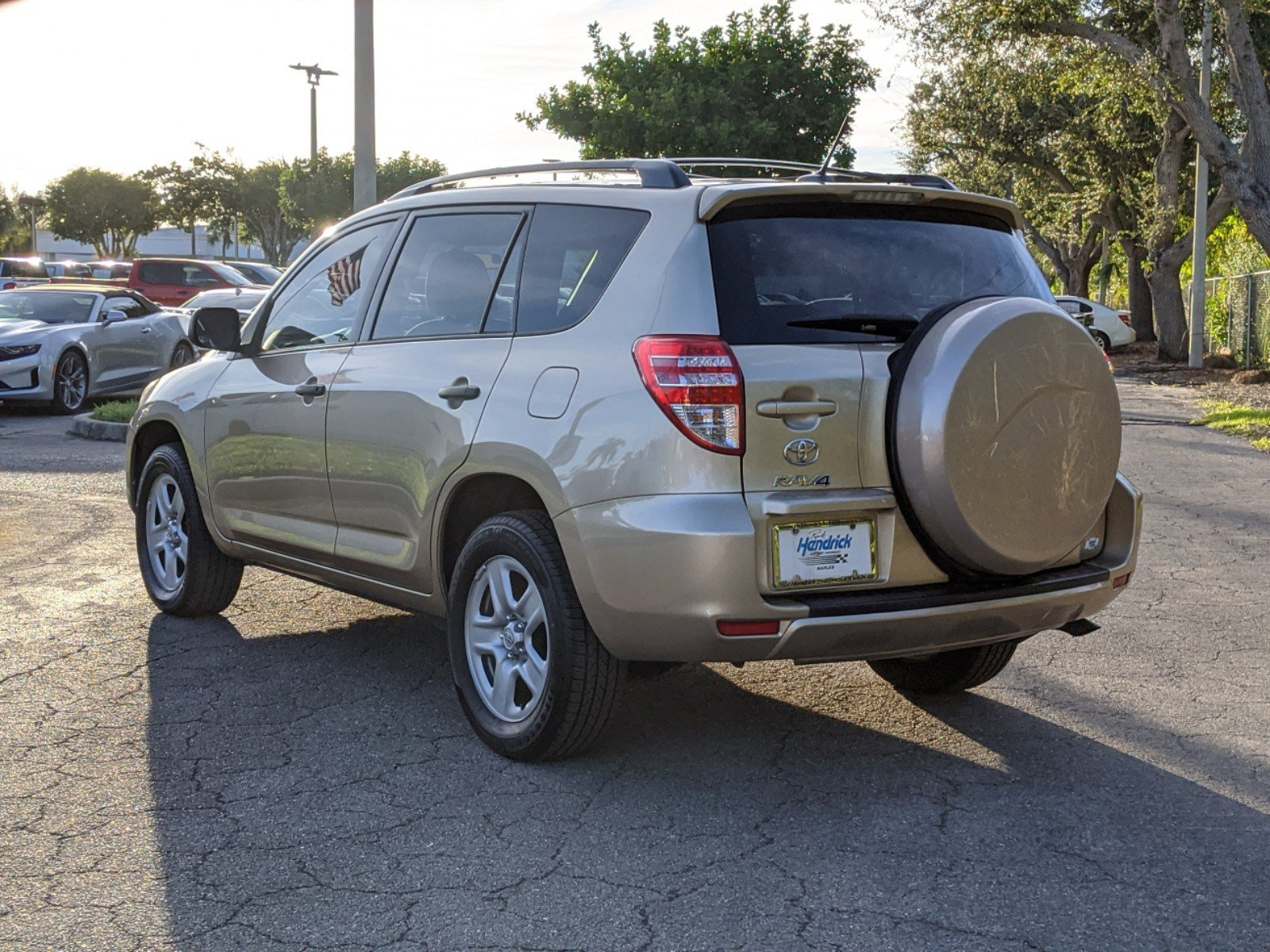 Pre-Owned 2011 Toyota RAV4 4WD 4dr 4-cyl 4-Spd AT