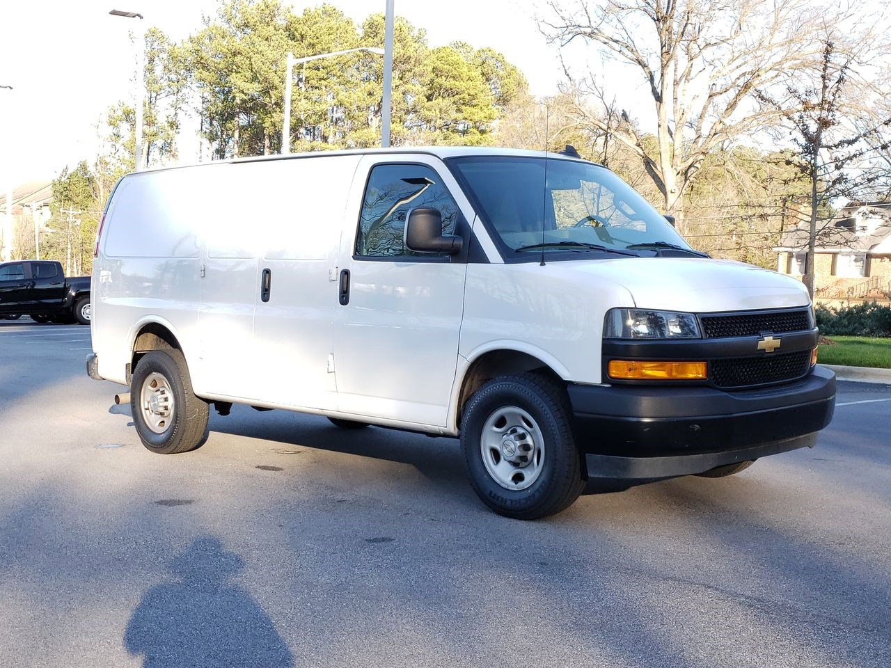 Pre-Owned 2019 Chevrolet Express Cargo Van RWD 2500 135