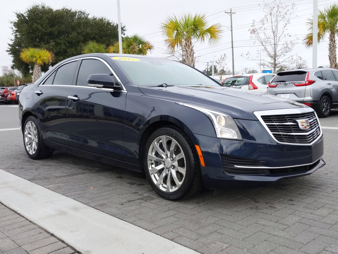 Pre-Owned 2018 Cadillac ATS Sedan Luxury RWD