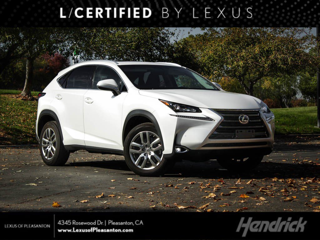 Certified Pre-Owned 2016 Lexus NX 200t FWD 4dr