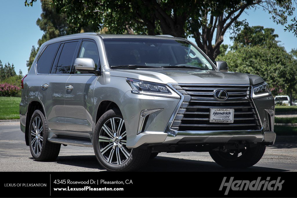 New 2019 Lexus LX 570 THREE-ROW LX570 Luxury Pkg Mark Levinson HUD DVD 3 Row