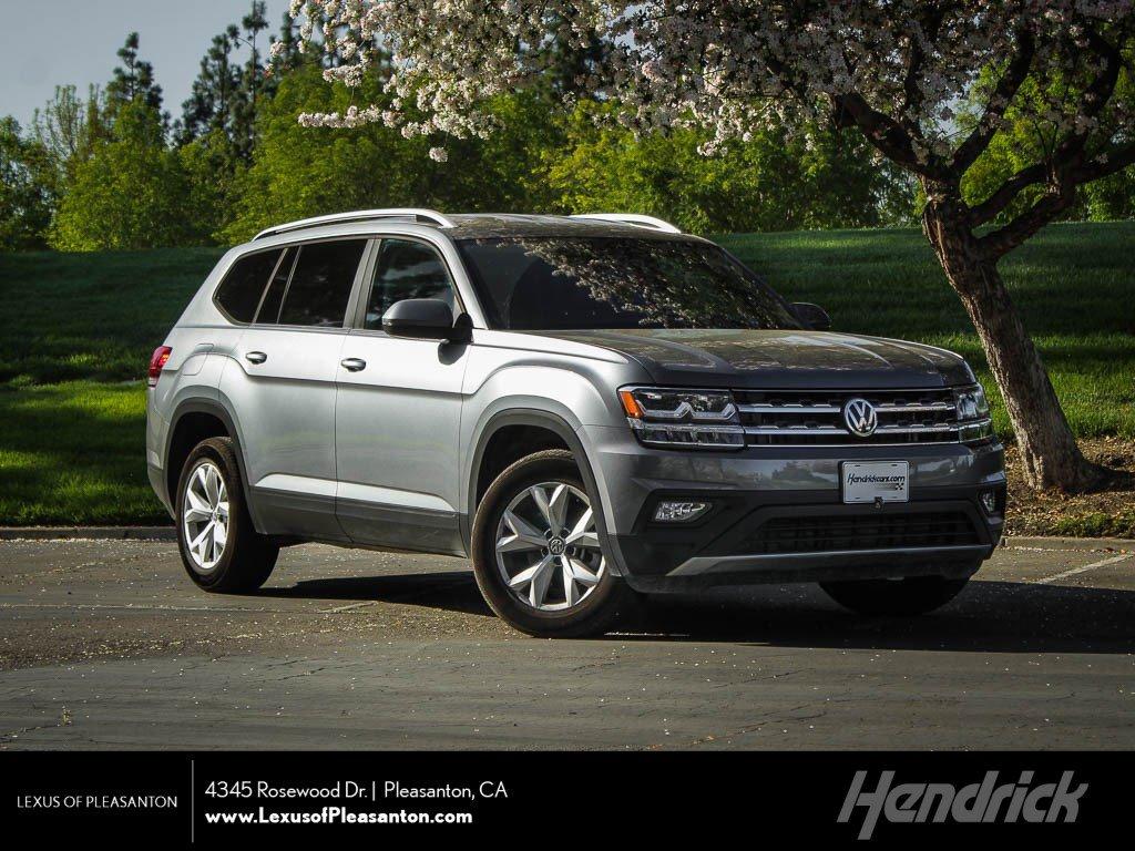 Pre-Owned 2019 Volkswagen Atlas 3.6L V6 SE w/Technology