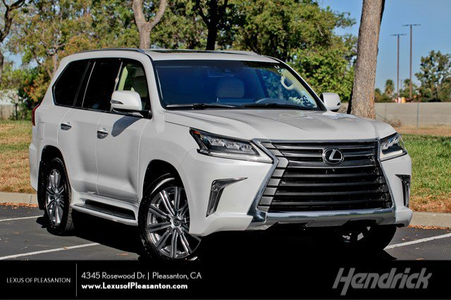 New 2020 Lexus LX 570 THREE-ROW LX570 Luxury Pkg Mark Levinson HUD DVD 3 Row 4WD
