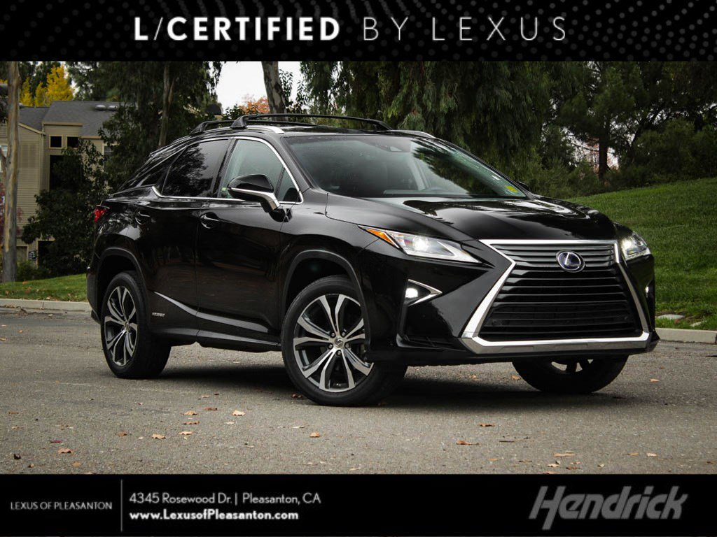 Certified Pre-Owned 2016 Lexus RX 450h AWD 4dr