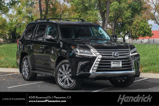 New 2019 Lexus LX 570 THREE-ROW LX 570 Luxury Pkg DVD 3 Row