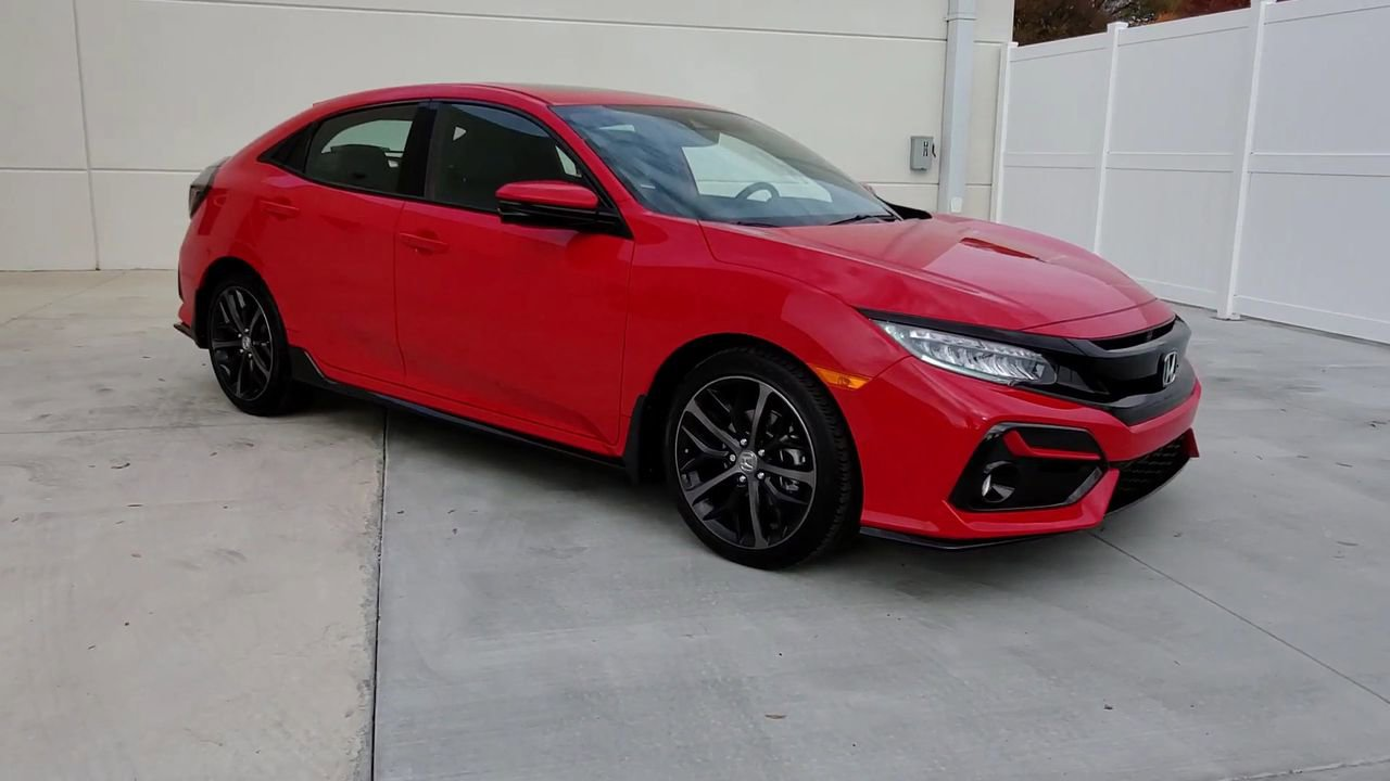 New 2020 Honda Civic Sport Touring