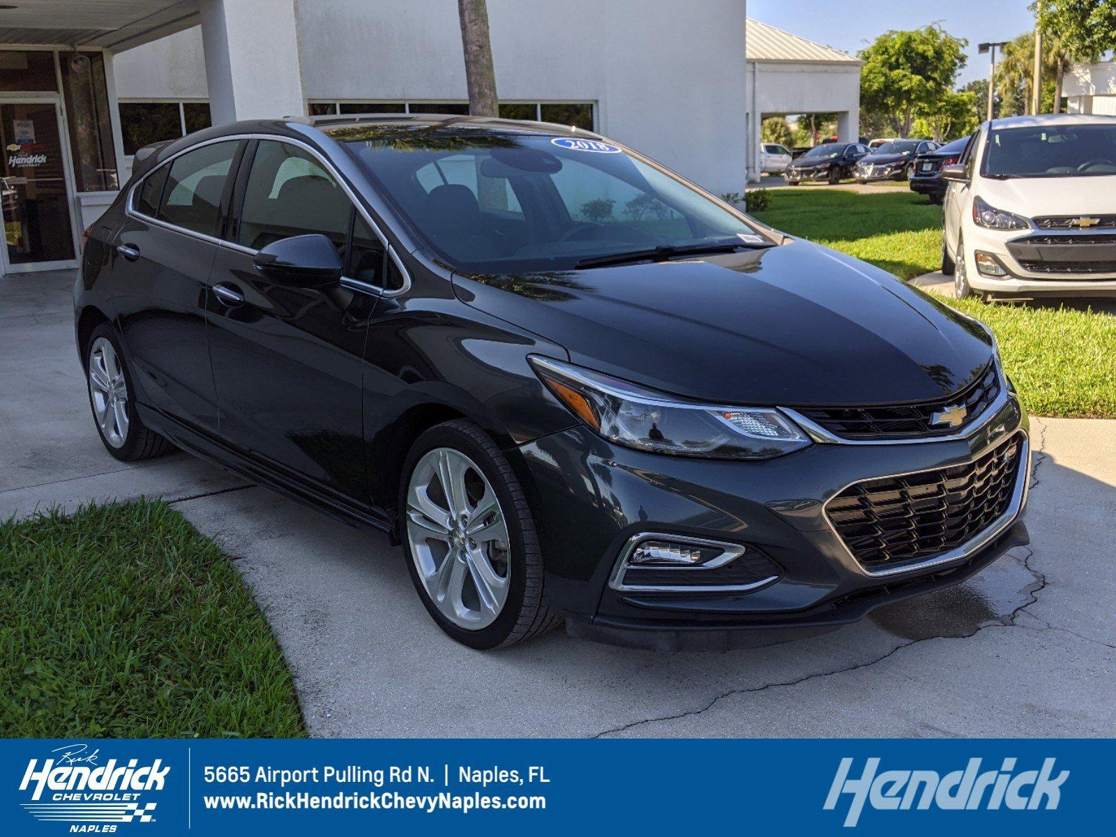 Certified Pre-Owned 2018 Chevrolet Cruze Premier