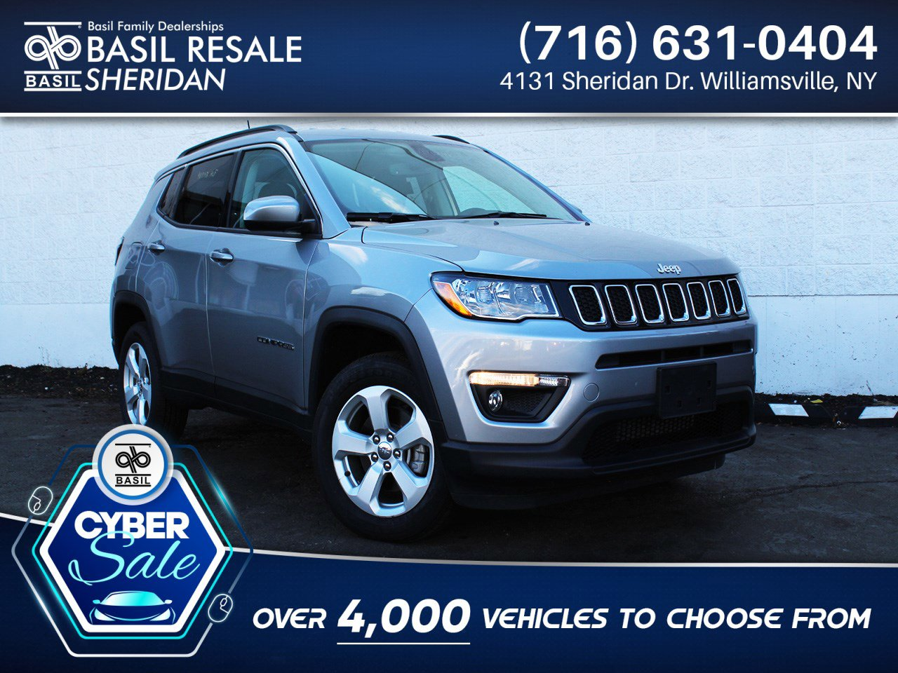 Pre-Owned 2020 Jeep Compass Latitude