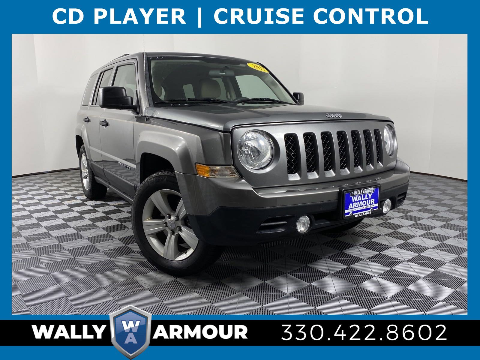 PRE-OWNED 2011 JEEP PATRIOT SPORT FWD SPORT UTILITY