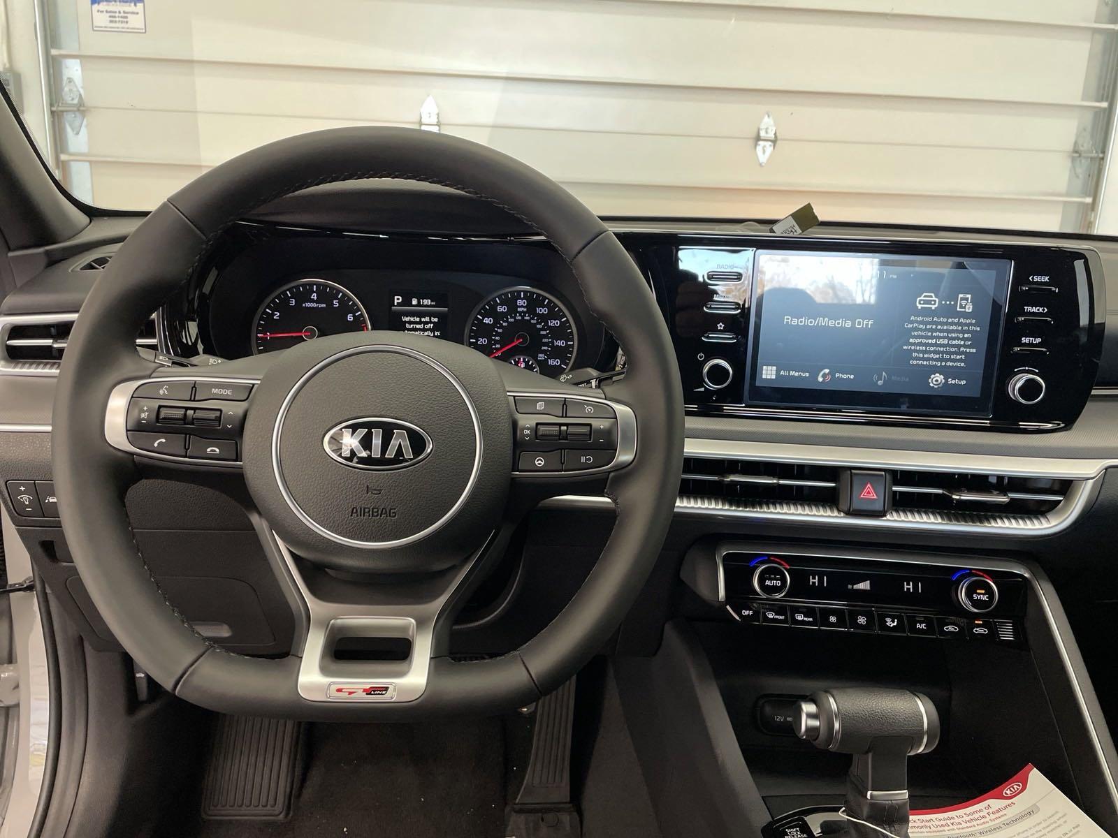 New 2021 Kia K5 GT-Line