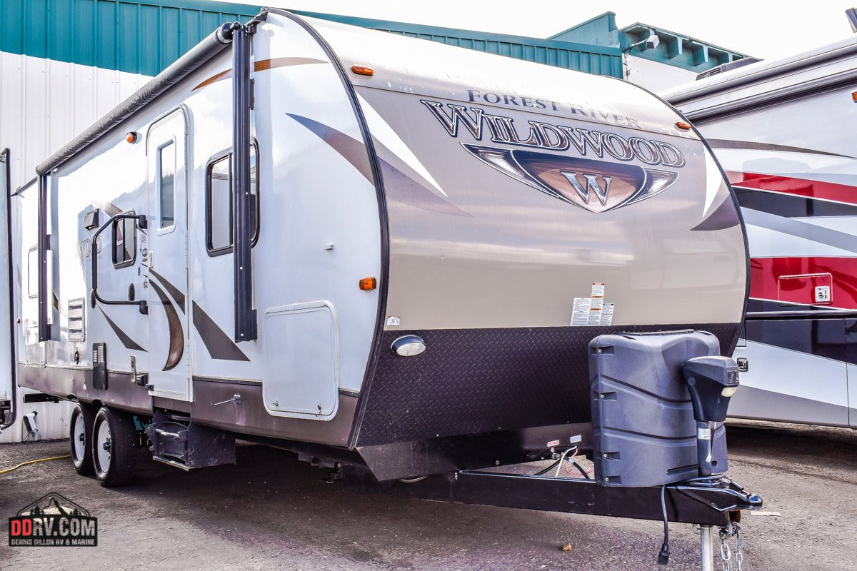 Pre-Owned 2016 FOREST RIVER WILDWOOD 26TBS