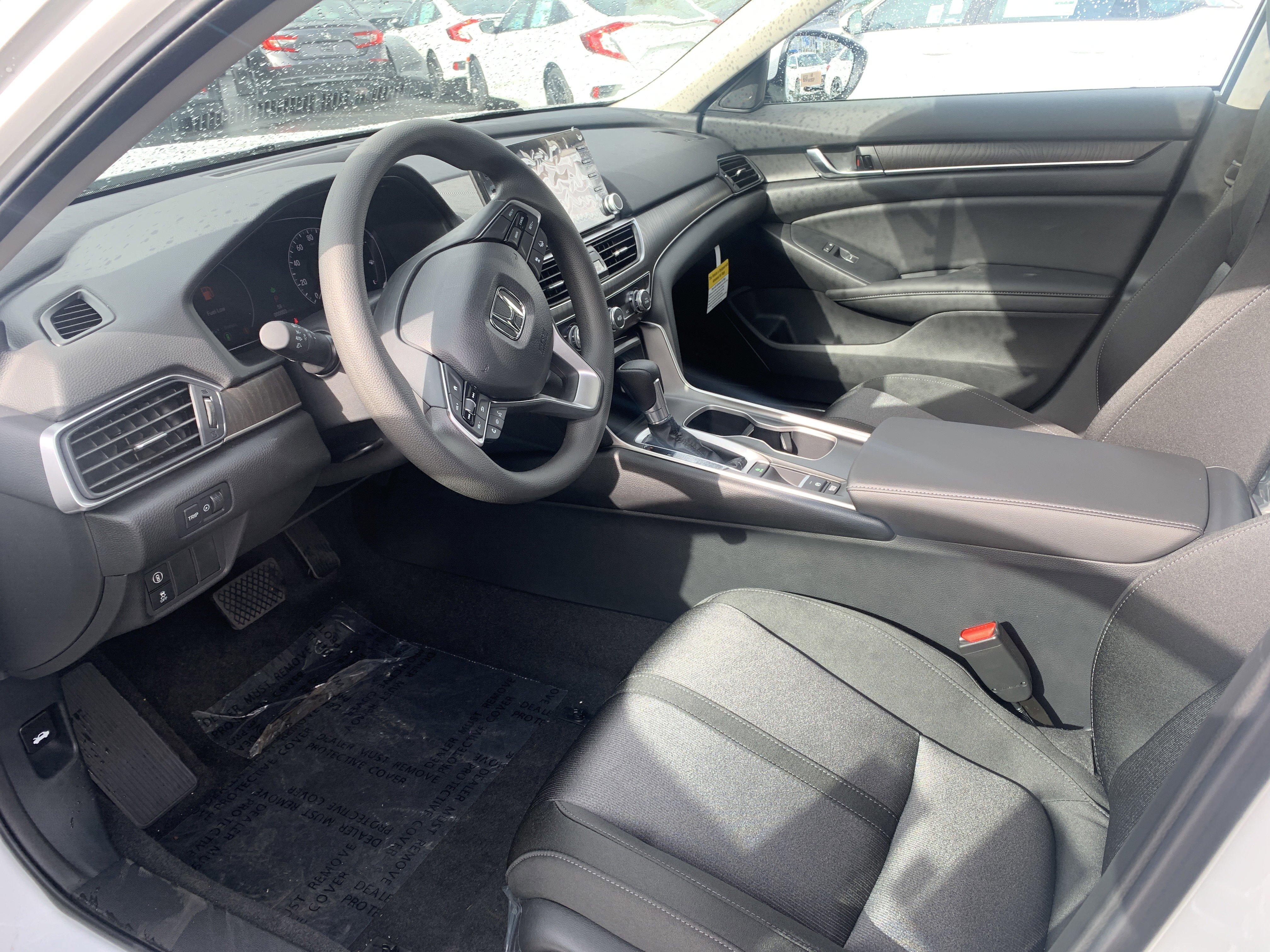 New 2020 Honda Accord Sedan EX 1.5T