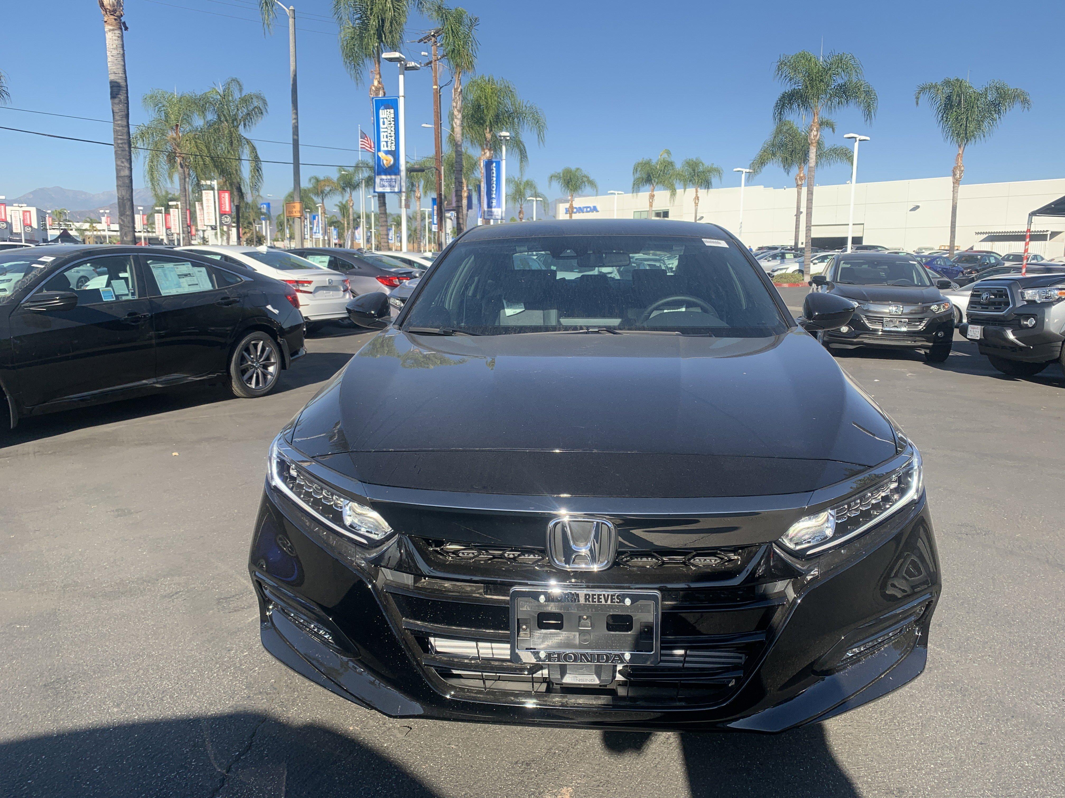 New 2020 Honda Accord Sedan Sport 1.5T