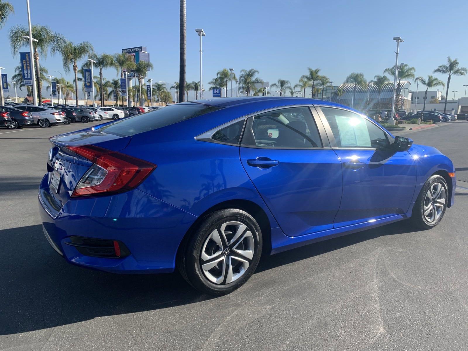 Certified Pre-Owned 2018 Honda Civic Sedan LX