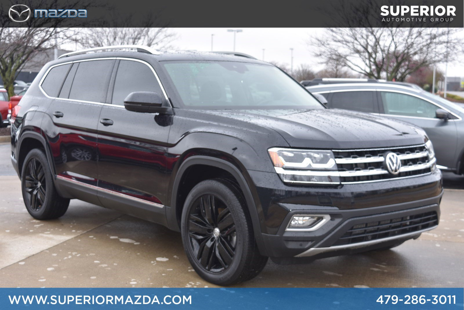 Pre-Owned 2018 Volkswagen Atlas 3.6L V6 SEL Prem 4Motion