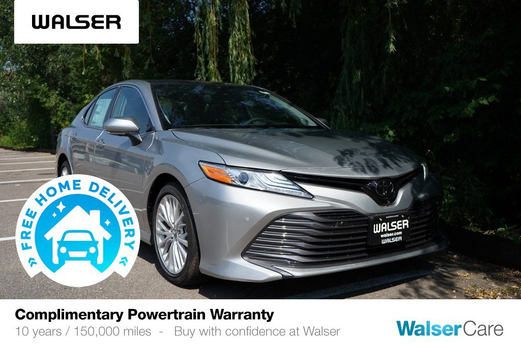 New 2019 Toyota Camry XLE V6 FWD
