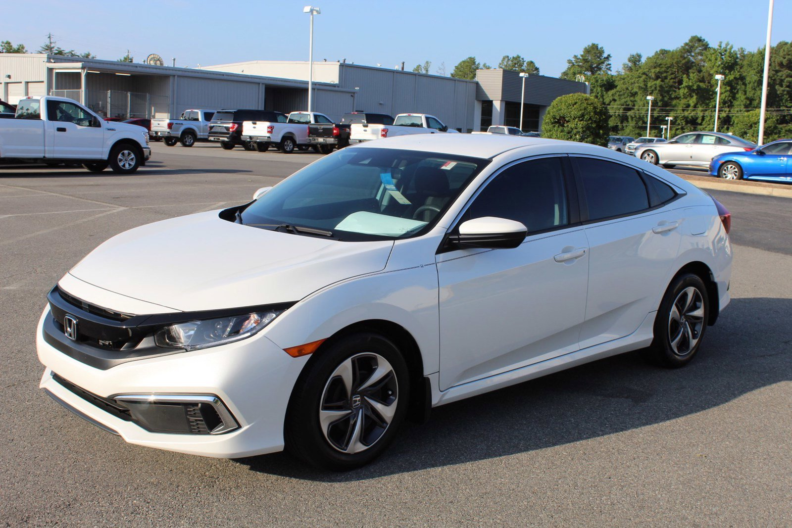 Pre-Owned 2019 Honda Civic Sedan LX